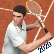 iPhone、iPadアプリ「テニスゲーム・狂騒の20年代」のアイコン