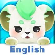 iPhone、iPadアプリ「英語発音ゲーム-マグナとふしぎの少女」のアイコン