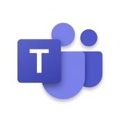 iPhone、iPadアプリ「Microsoft Teams」のアイコン