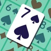 iPhone、iPadアプリ「ハマる!七並べ - 対戦できる人気トランプゲーム」のアイコン