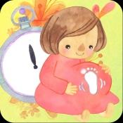 iPhone、iPadアプリ「胎動〜陣痛時計」のアイコン