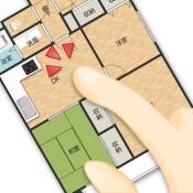 iPhone、iPadアプリ「PowerSketch 手描き対応間取り図作成アプリ」のアイコン