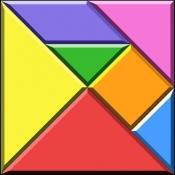 iPhone、iPadアプリ「タングラム キング」のアイコン