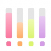 iPhone、iPadアプリ「シンプル多重録音!EasyMixRecorder」のアイコン