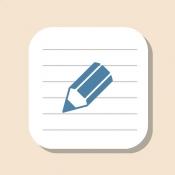 iPhone、iPadアプリ「おとなのメモ帳」のアイコン