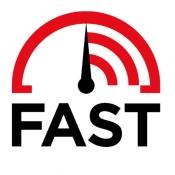 iPhone、iPadアプリ「FAST Speed Test」のアイコン