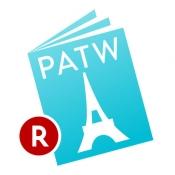 iPhone、iPadアプリ「PATW (パトゥー) - 世界中の旅行・観光パンフレットが探せる/見れる!」のアイコン