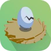 iPhone、iPadアプリ「1分間たまご - 激ムズ!」のアイコン