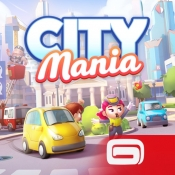 iPhone、iPadアプリ「City Mania」のアイコン