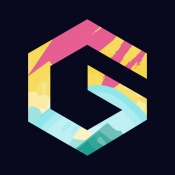 iPhone、iPadアプリ「GoArt – Art Photo Editor」のアイコン
