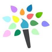 iPhone、iPadアプリ「Paintkeep ペインティング」のアイコン