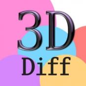 iPhone、iPadアプリ「3Dまちがいさがし - ひまから脱出!」のアイコン