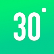 iPhone、iPadアプリ「30日間フィットネスチャレンジ」のアイコン