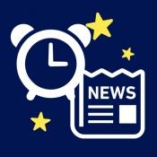 iPhone、iPadアプリ「目覚ましニュース」のアイコン