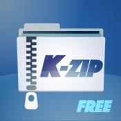 iPhone、iPadアプリ「K-Zip Lite: 操作容易なZip解凍・圧縮ツール」のアイコン