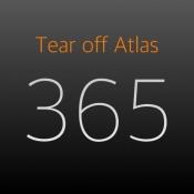 iPhone、iPadアプリ「Tear off Atlas -地図グラフィックのカレンダー-」のアイコン