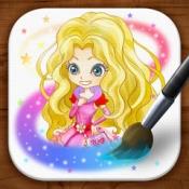 iPhone、iPadアプリ「お絵かきwithトイズパレードキャラクター」のアイコン