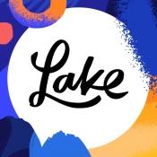 iPhone、iPadアプリ「Lake 塗り絵本」のアイコン