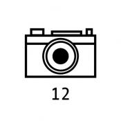 iPhone、iPadアプリ「film12」のアイコン