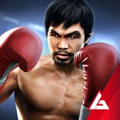 iPhone、iPadアプリ「Real Boxing Manny Pacquiao」のアイコン