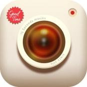 iPhone、iPadアプリ「GOODTIME - 動画作成/動画編集/動画加工/動画撮影 無料アプリ - グッドタイム」のアイコン