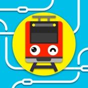 iPhone、iPadアプリ「ツクレール - 電車シミュレータ」のアイコン
