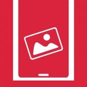 iPhone、iPadアプリ「ナガラ画像ビューアウィジェット」のアイコン