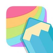 iPhone、iPadアプリ「メディバン ぬりえ」のアイコン