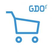 iPhone、iPadアプリ「ゴルフSHOP ‐GDO(ゴルフダイジェスト・オンライン)‐」のアイコン