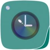 iPhone、iPadアプリ「時撮りカメラ」のアイコン