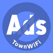 iPhone、iPadアプリ「広告ブロック by TownWiFi」のアイコン