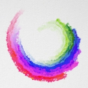 iPhone、iPadアプリ「Watercolor Effect Oil Painting」のアイコン