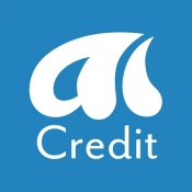 iPhone、iPadアプリ「AI-Credit(エーアイクレジット)」のアイコン