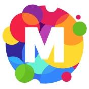 iPhone、iPadアプリ「MoShow 音楽が付いた写真 アニメーション動 画 編 集」のアイコン
