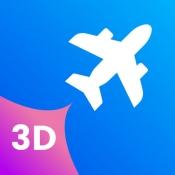 iPhone、iPadアプリ「Plane Finder 3D」のアイコン