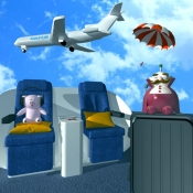 iPhone、iPadアプリ「脱出ゲーム- 飛行機から脱出」のアイコン