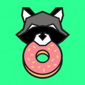 iPhone、iPadアプリ「Donut County」のアイコン