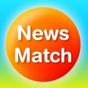 iPhone、iPadアプリ「NewsMatch」のアイコン