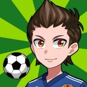 iPhone、iPadアプリ「机でサッカー」のアイコン