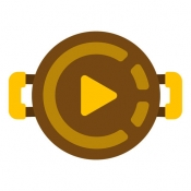 iPhone、iPadアプリ「3秒撮るだけ料理動画撮影アプリ Cookin' クッキン」のアイコン