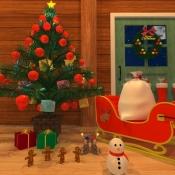 iPhone、iPadアプリ「脱出ゲーム - サンタの家から脱出」のアイコン