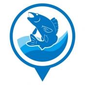 iPhone、iPadアプリ「海釣図V ~海底地形がわかる海釣りマップ~」のアイコン