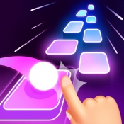 iPhone、iPadアプリ「Tiles Hop:リズムゲーム」のアイコン