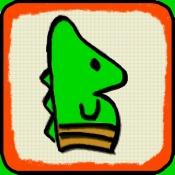 iPhone、iPadアプリ「Flappy Chameleon」のアイコン