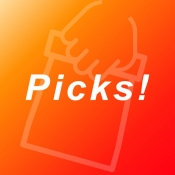 iPhone、iPadアプリ「Picks(ピックス)」のアイコン