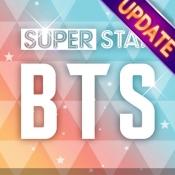 iPhone、iPadアプリ「SUPERSTAR BTS」のアイコン