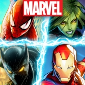 iPhone、iPadアプリ「MARVEL Battle Lines」のアイコン
