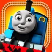 iPhone、iPadアプリ「きかんしゃトーマスせんろをつくろう指でなぞるだけの簡単ゲーム」のアイコン