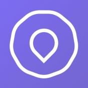 iPhone、iPadアプリ「nearMe. - 相乗りで、移動をもっと快適に。」のアイコン