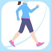 iPhone、iPadアプリ「歩数計 - シンプル歩数計 おすすめ歩数計アプリで1万歩!」のアイコン